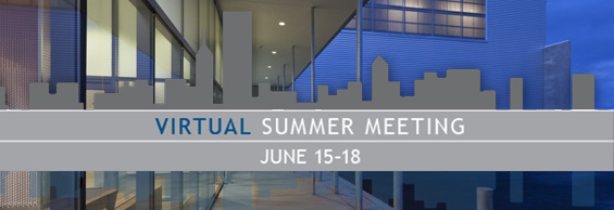 REGISTER NOW FOR MCA's VIRTUAL SUMMER MEETING, June 15-18